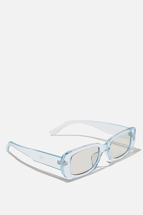 Abby Sunglasses, BLUE CRYSTAL