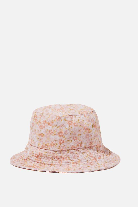 Bianca Bucket Hat, ORANGE RITA FLORAL