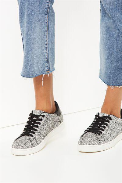 Cathryn Sneaker, BOUCLE KNIT