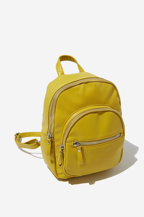 Zip It Backpack, CHARTREUSE