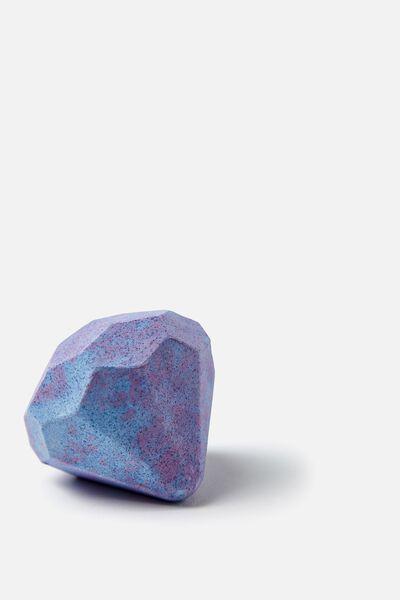 Bath Fizzer, MOONLIGHT/PURPLE DIAMOND