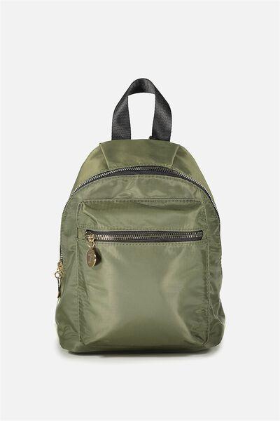 Tiny Traveller Backpack, KHAKI