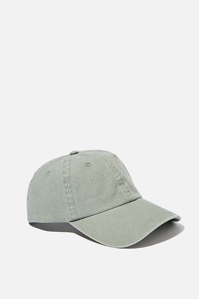 Washed Cap, COOL AVOCADO