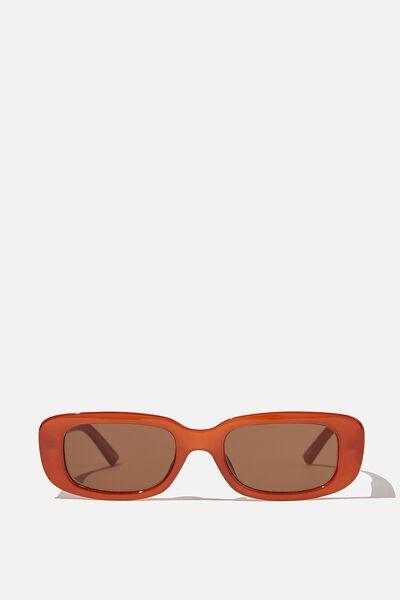 Abby Sunglasses, RUST