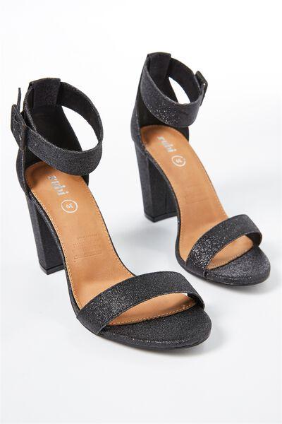San Sebastian Heel, BLACK SPARKLE