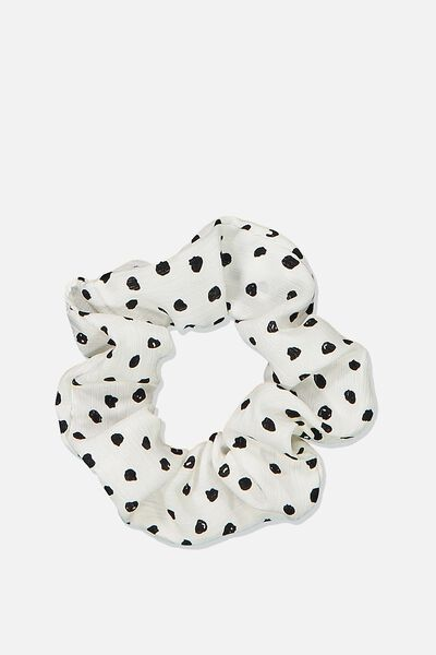 So Me Scrunchie, WHITE PRETTY SPOT