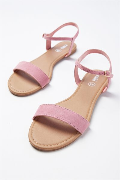 Everyday Thin Strap Sandal, PEONY PINK MICRO