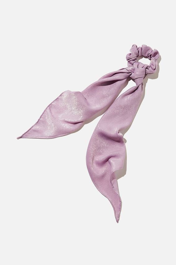 New York Convertible Scrunchie, LILAC BLOOM