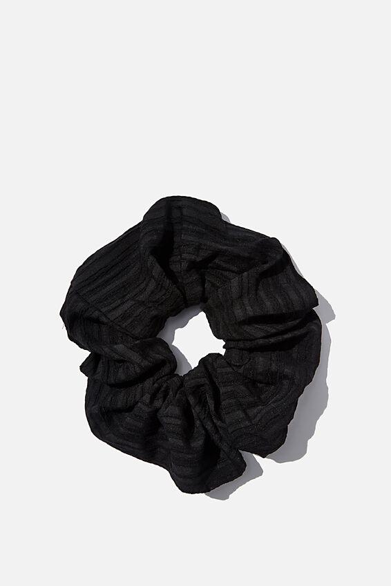 Super Scrunchie, BLACK