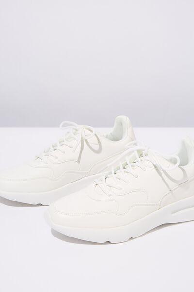 Cherry Chunky Sneaker, WHITE MULTI