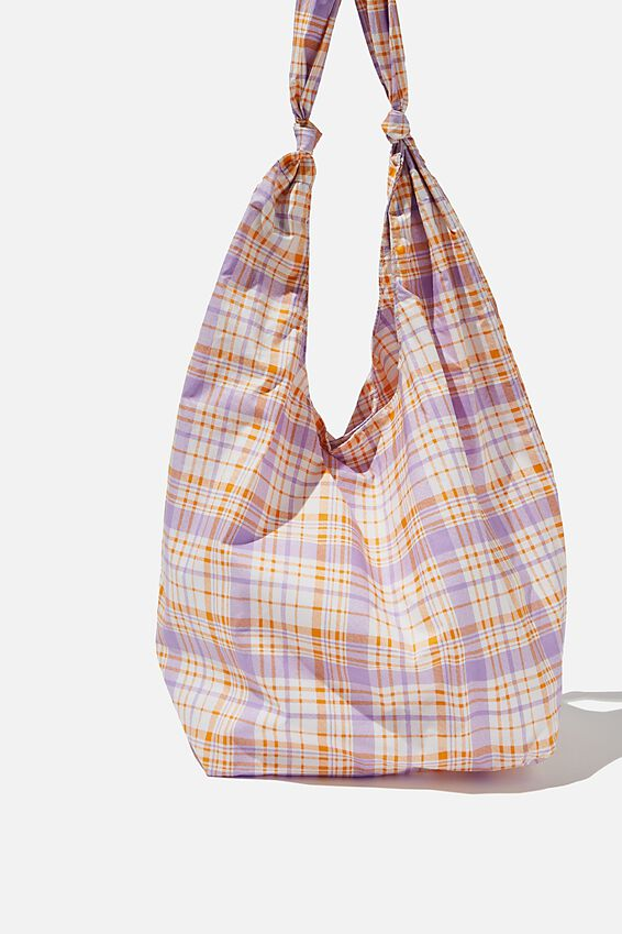 Endless Summer Slouch Tote, POWDER LILAC/SWEET ORANGE