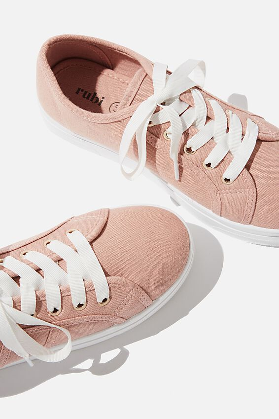 Willow Platform Sneaker, ASH ROSE CANVAS