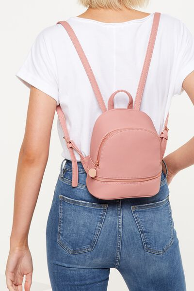 Mini Mia Backpack, ROSE TAN