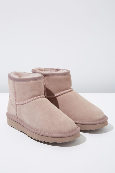 Classic Home Boot, DARK PINK