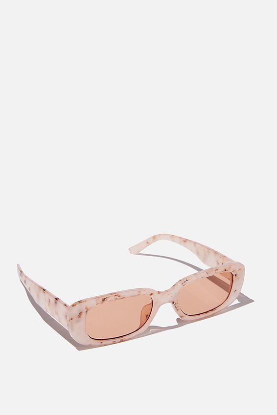 Abby Sunglasses, BLUSH TORT