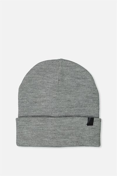 Compton High Beanie, GREY MARLE
