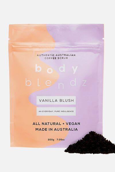 Body Blendz Coffee Scrub, VANILLA BLUSH