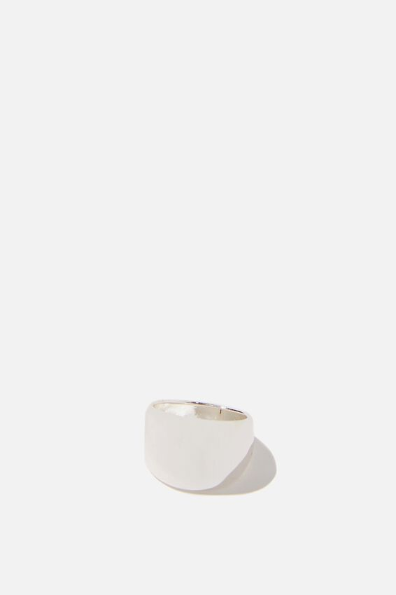 Luxe Layers Minimal Ring, SILVER