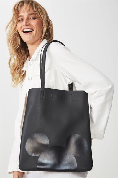 Work It Mini Tote, LCN MICKEY BLACK