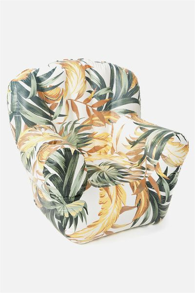 Prop Me Up Inflatable Chair, BANANA LEAF