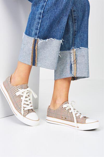 Jodi Low Rise Sneaker 1, CHECK