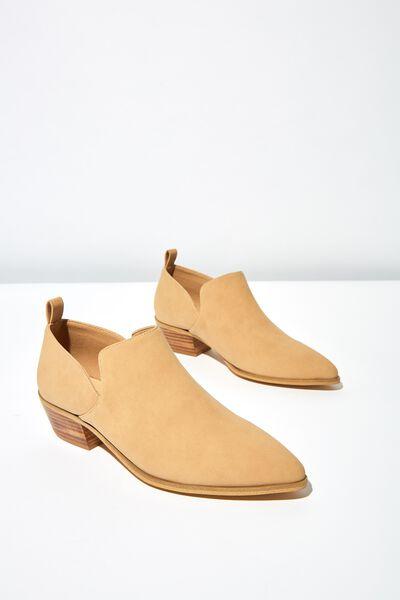 Leonard Low Cut Boot, CINNAMON SMOOTH
