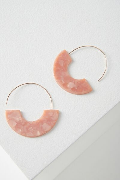 Boston Earring, BLUSH