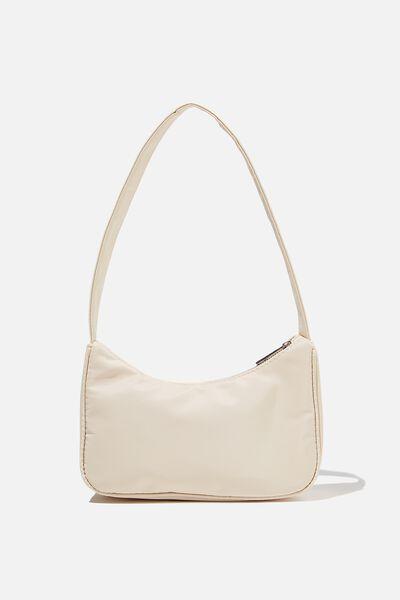 Nadia Underarm Bag, BUTTER