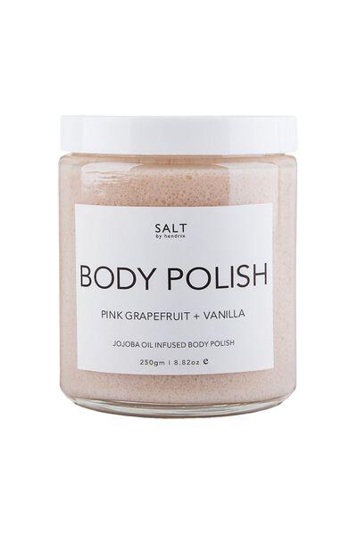 Salt By Hendrix Body Polish, GRAPEFRUIT AND VANILLA
