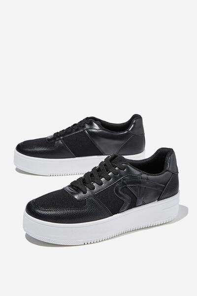 Lexi Platform Sneaker, BLACK MULTI