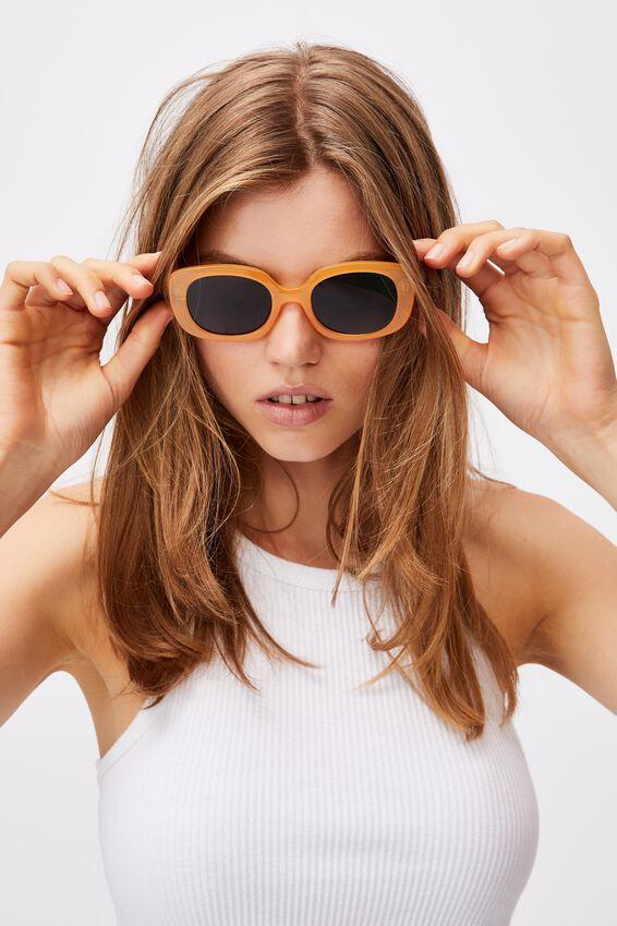 Jade Square Sunglasses, MANGO