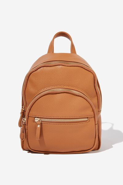 Zip It Backpack, TAN