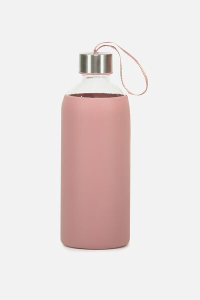 1L Hydrator Waterbottle, DUSTY ROSE