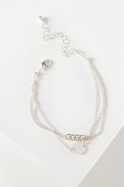 Ophelia Layer Bracelet, SILVER