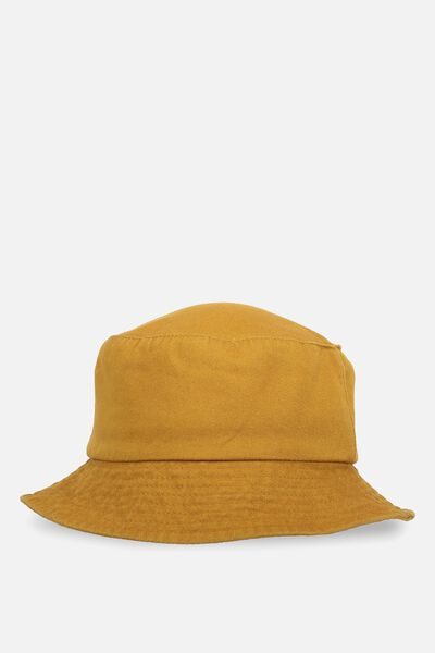Bella Bucket Hat, MUSTARD