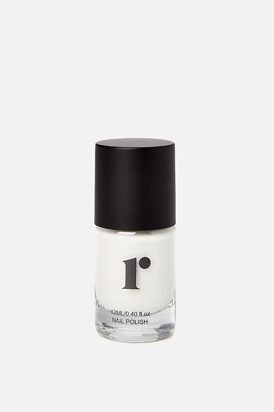 Nail Polish, BRIGHT WHITE