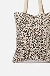 Take It All In Tote, LEOPARD