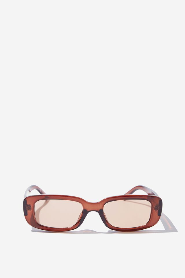 Abby Sunglasses, CHOCOLATE CRYSTAL