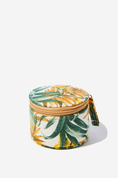 Mini Jewellery Box, BANANA LEAF