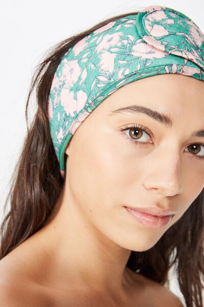 Body Home Spa   Hair Band, FLORAL