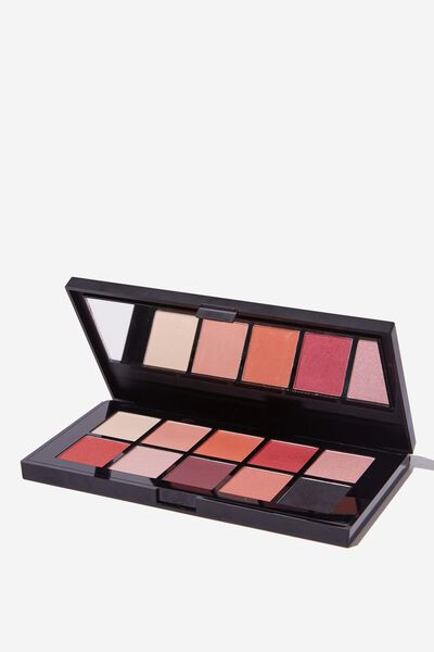 Eyeshadow Palette - 10 Colour, ELECTRIC NIGHTS