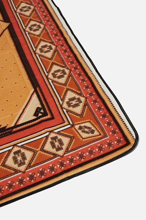 Picnic Blanket, AZTEC CAMEL RUG
