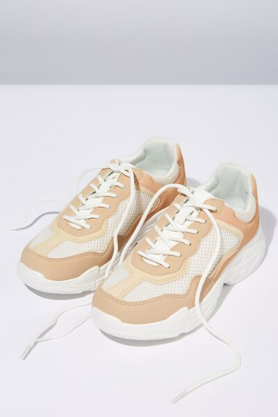 Body Erika Chunky Trainer, NUDE MULTI