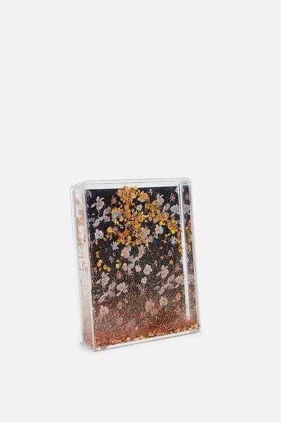Gift Frame, ROSE GOLD GLITTER