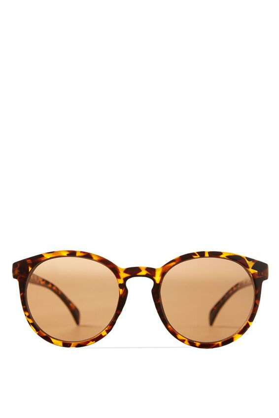 Rollin Round Sunglasses, TORT