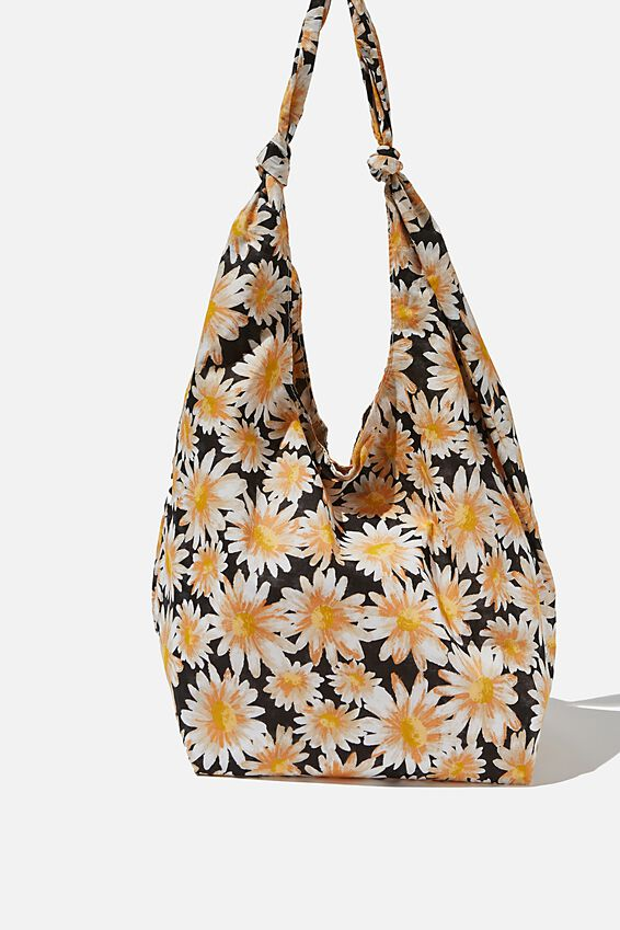 Endless Summer Slouch Tote, JOSIE DAISY BLACK