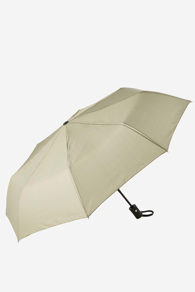 Compact Umbrella, KHAKI