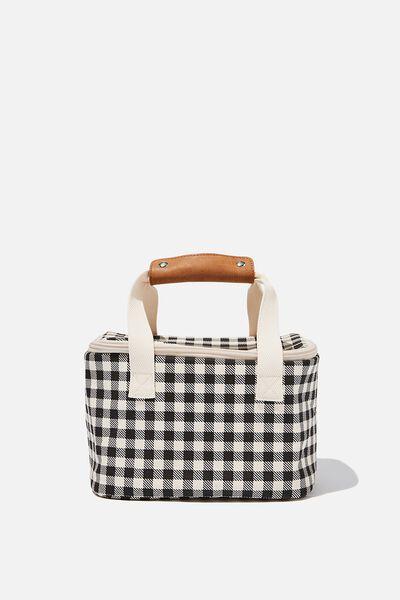 Cooler Bag, BLACK CHECK