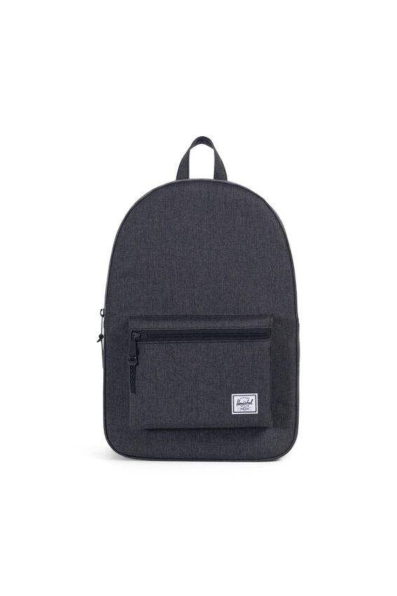 Herschel Settlement Backpack, BLACK CROSSHATCH