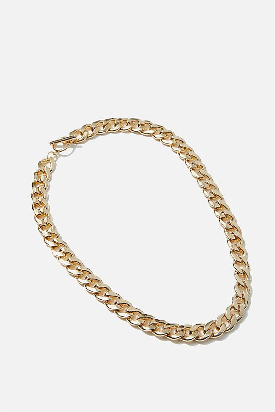 Luxe Layers Classic Chain Necklace, GOLD